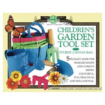 House of Marbles Children's Garden Tool Set & Canvas Bag