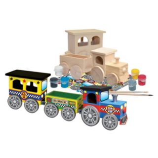 MasterPieces Works of Ahhh... Wood Painting Kit - Coo Coo Train