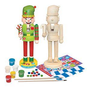 MasterPieces Works of Ahhh... Wood Painting Kit - Nutcracker Elf