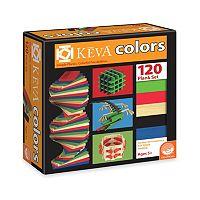 MindWare KEVA Colors - 120 Plank Set