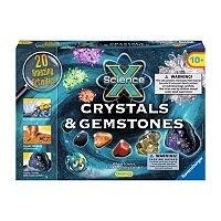 Ravensburger Science X Maxi - Crystals & Gemstones Set