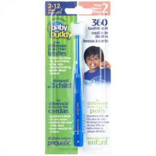 Baby Buddy Step Two 360-Degree Toothbrush