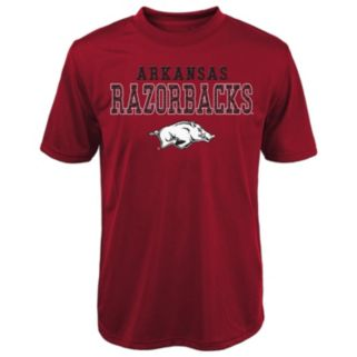Boys 8-20 Arkansas Razorbacks Fulcrum Performance Tee