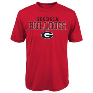 Boys 8-20 Georgia Bulldogs Fulcrum Performance Tee