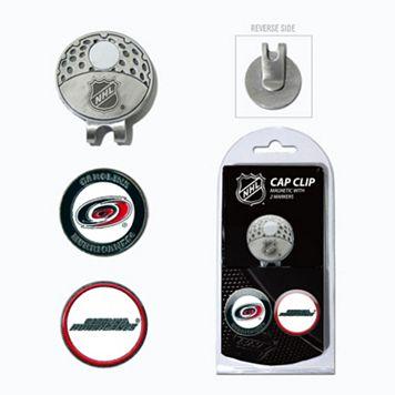 Team Golf Carolina Hurricanes Cap Clip & Magnetic Ball Markers