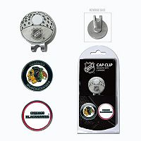 Team Golf Chicago Blackhawks Cap Clip & Magnetic Ball Markers