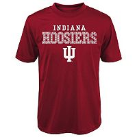 Boys 8-20 Indiana Hoosiers Fulcrum Performance Tee