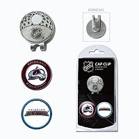 Team Golf Colorado Avalanche Cap Clip & Magnetic Ball Markers