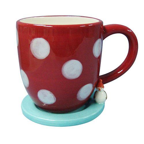St. Nicholas Square® North Pole 20-oz. Lidded Coaster Mug