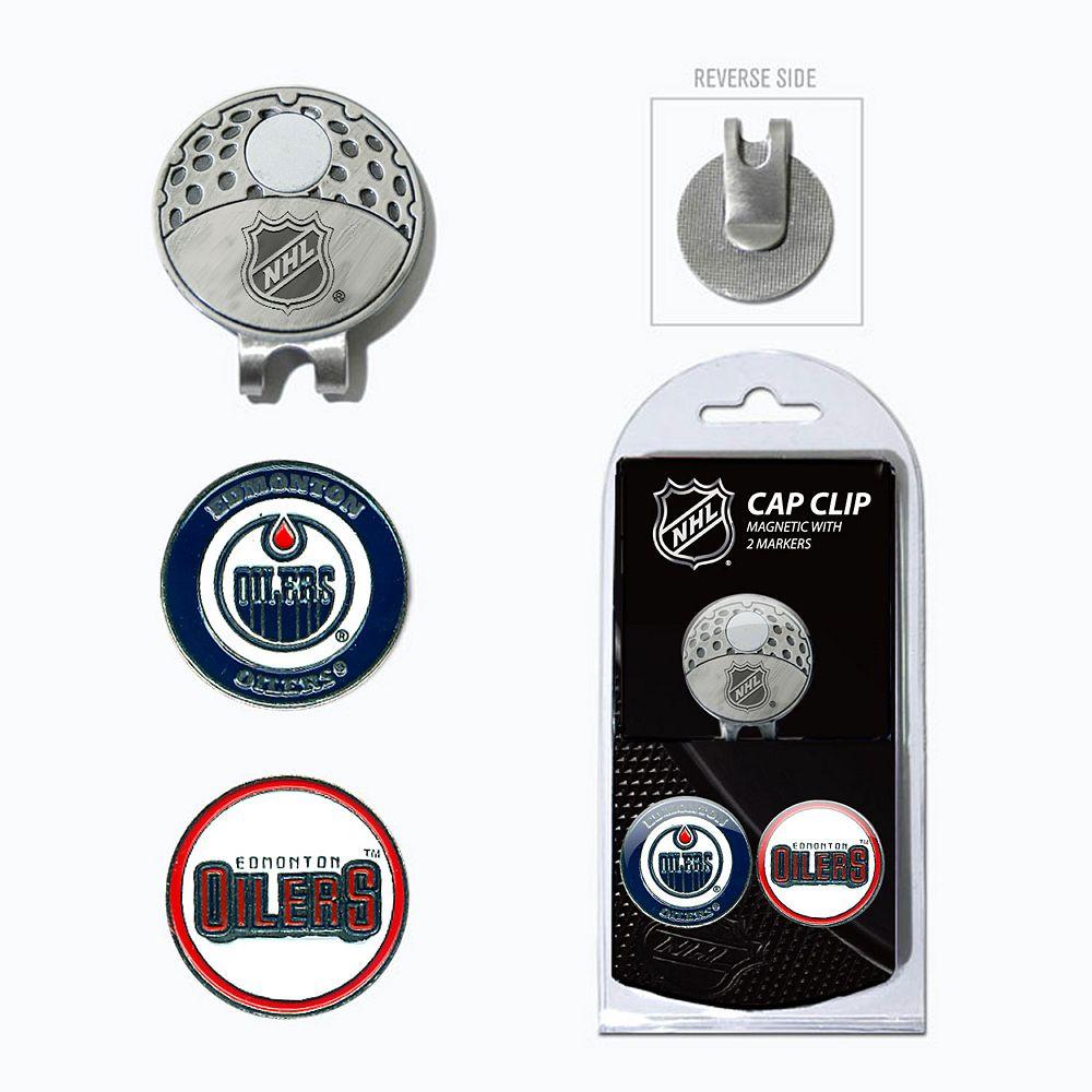 Team Golf Edmonton Oilers Cap Clip & Magnetic Ball Markers