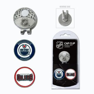 Team Golf Edmonton Oilers Cap Clip & Magnetic Ball Markers