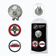 Team Golf Florida Panthers Cap Clip & Magnetic Ball Markers