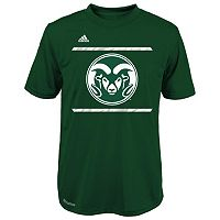 Boys 8-20 adidas Colorado State Rams Climalite Performance Tee