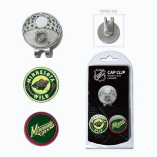 Team Golf Minnesota Wild Cap Clip & Magnetic Ball Markers