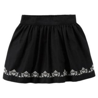 Toddler Girl Carter's Embroidered Skirt