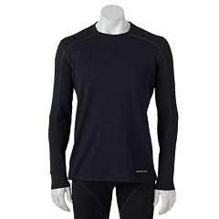 Men's Terramar Climasense Thermawool CS Merino Heat-Generating Performance Base Layer Crew
