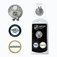 Team Golf Nashville Predators Cap Clip & Magnetic Ball Markers