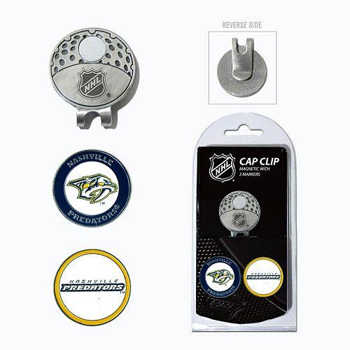 Team Golf Nashville Predators Cap Clip & Magnetic Ball Markers
