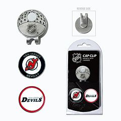 Team Golf New Jersey Devils Cap Clip & Magnetic Ball Markers
