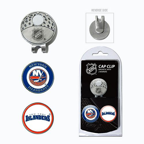 Team Golf New York Islanders Cap Clip & Magnetic Ball Markers
