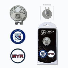 Team Golf New York Rangers Cap Clip & Magnetic Ball Markers