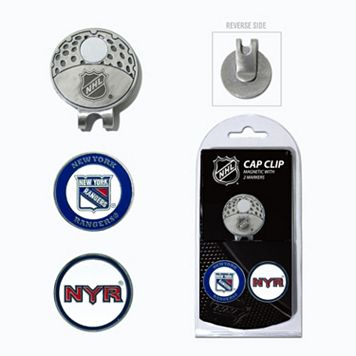 Team Golf New York Rangers Cap Clip & Magnetic Ball Markers