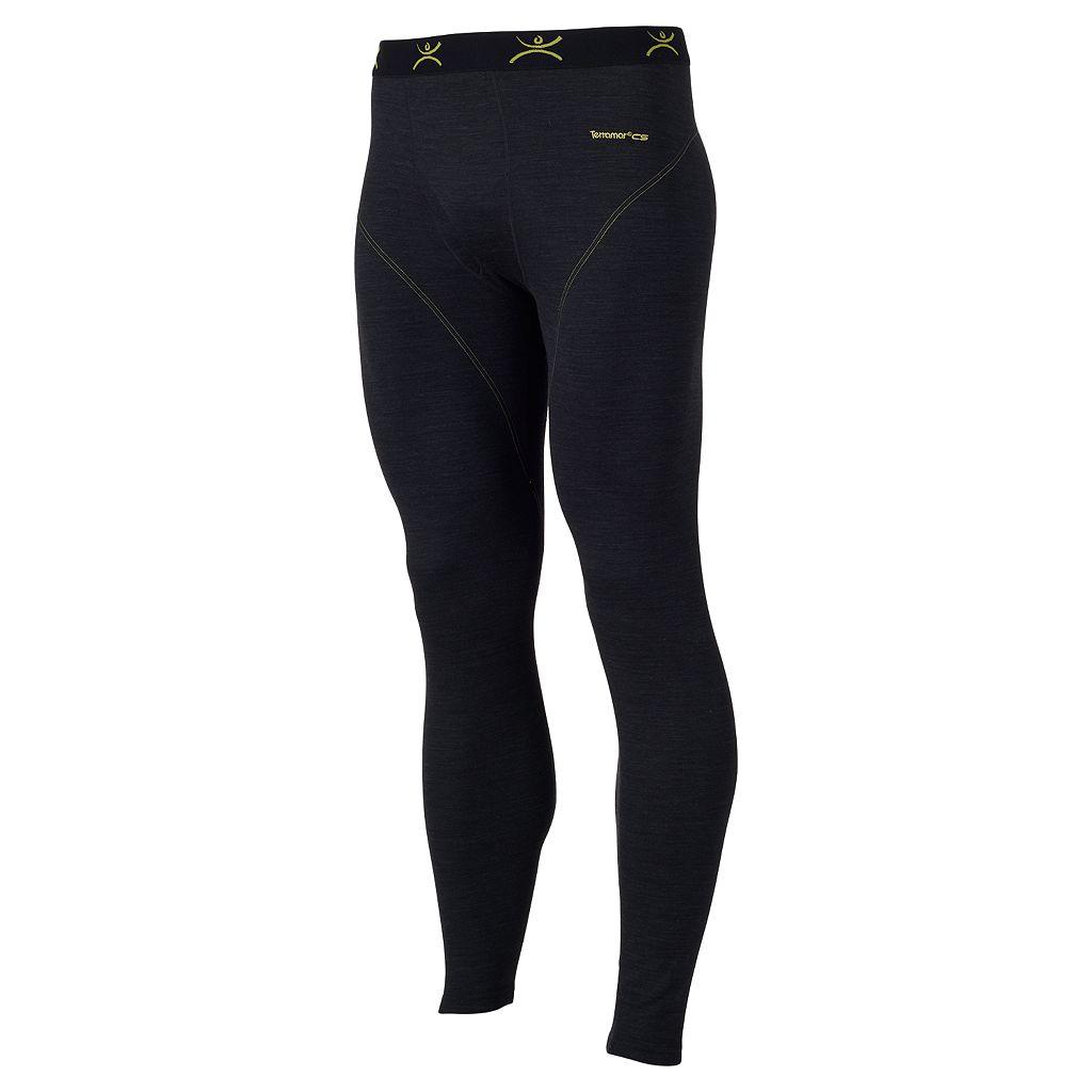 Men's Terramar Climasense Thermawool CS Merino Heat-Generating Performance Base Layer Pants