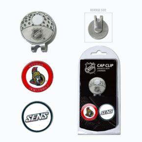 Team Golf Ottawa Senators Cap Clip & Magnetic Ball Markers