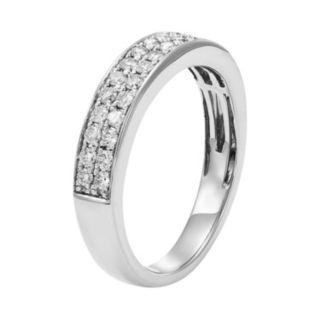 1/2 Carat T.W. IGL Certified Diamond 14k Gold Wedding Ring