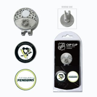 Team Golf Pittsburgh Penguins Cap Clip & Magnetic Ball Markers