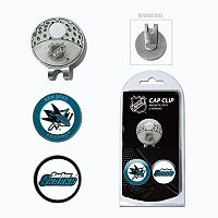 Team Golf San Jose Sharks Cap Clip & Magnetic Ball Markers