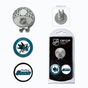 Team Golf San Jose Sharks Cap Clip & Magnetic Ball Markers