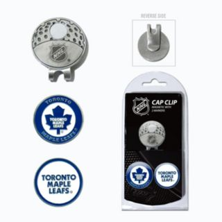 Team Golf Toronto Maple Leafs Cap Clip & Magnetic Ball Markers
