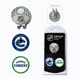 Team Golf Vancouver Canucks Cap Clip & Magnetic Ball Markers