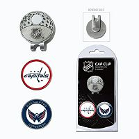 Team Golf Washington Capitals Cap Clip & Magnetic Ball Markers