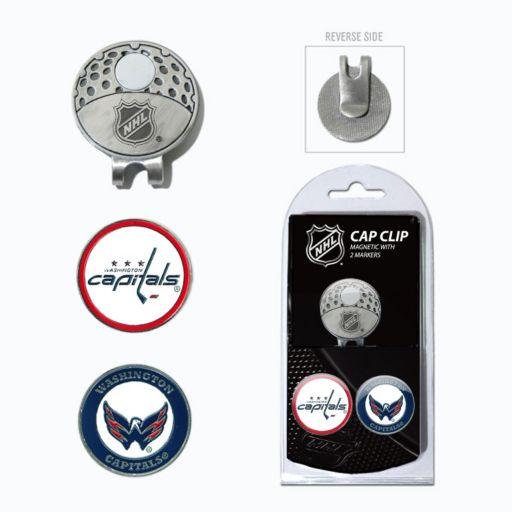 Team Golf Washington Capitals Cap Clip & Magnetic Ball Markers