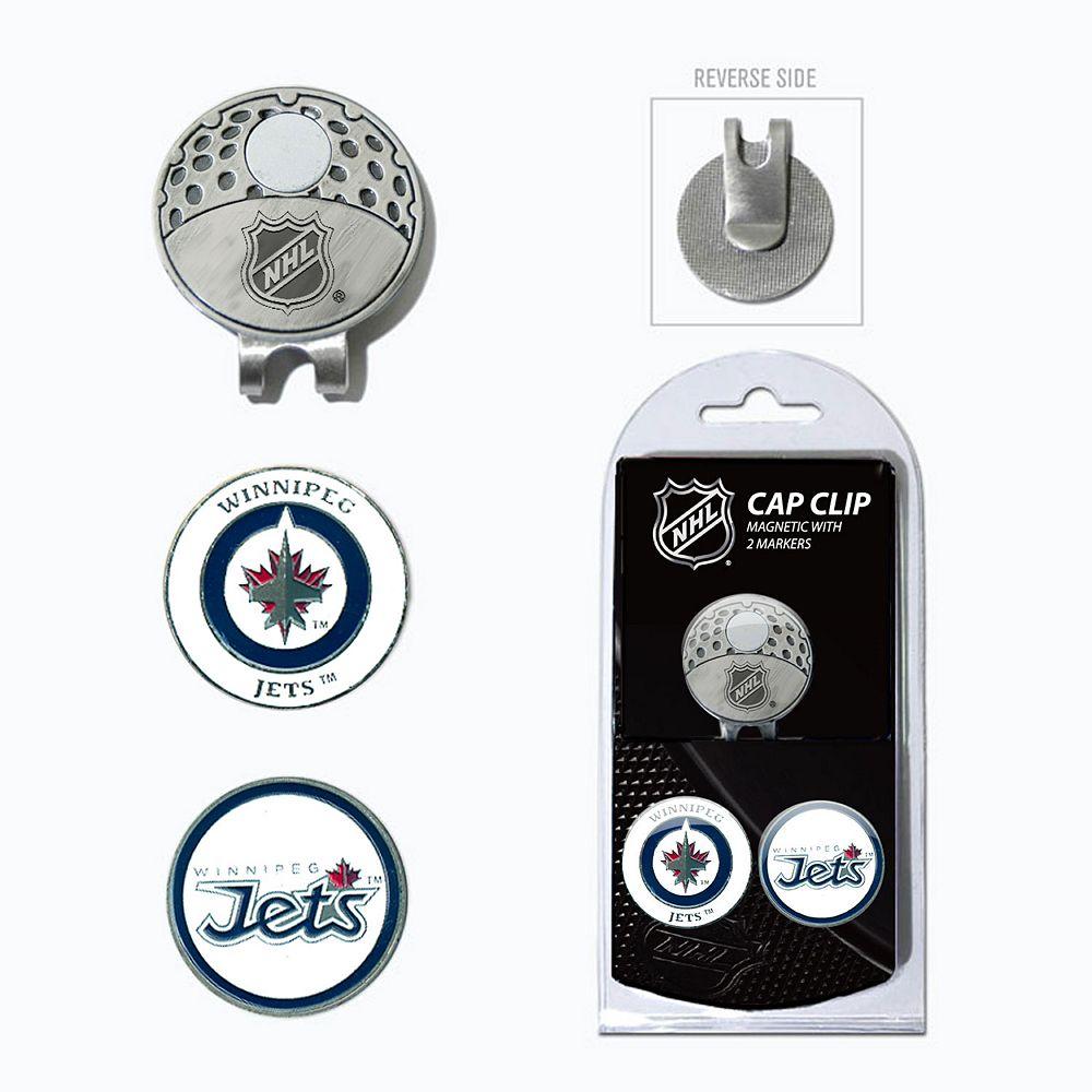 Team Golf Winnipeg Jets Cap Clip & Magnetic Ball Markers