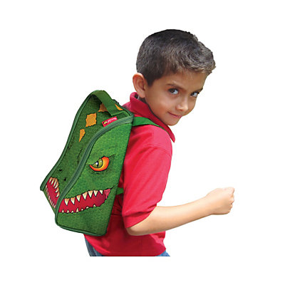 Neat-Oh! ZipBin Dinosaur Bring-Along Backpack & Toy Set