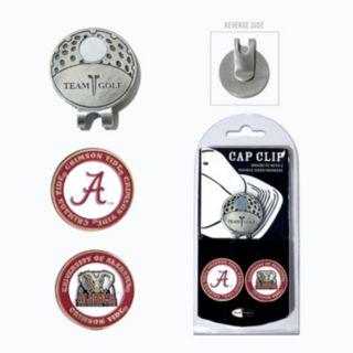 Team Golf Alabama Crimson Tide Cap Clip & Magnetic Ball Markers