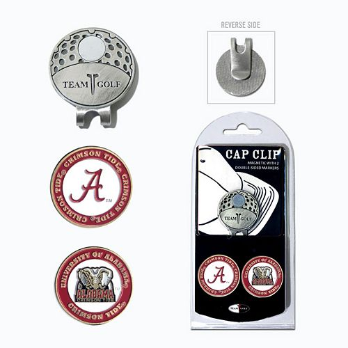 Team Golf Alabama Crimson Tide Cap Clip & Magnetic Ball Markers