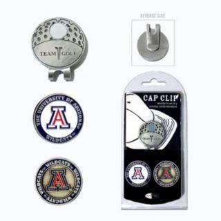Team Golf Arizona Wildcats Cap Clip & Magnetic Ball Markers