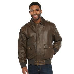 Men's Vintage Leather Distressed Leather Jacket
