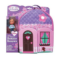 Neat-Oh! Everyday Princess ZipBin Doll Dollhouse Backpack & Doll Set