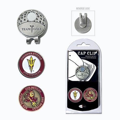Team Golf Arizona State Sun Devils Cap Clip & Magnetic Ball Markers