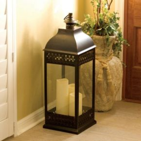 Smart Design San Nicola LED Lantern