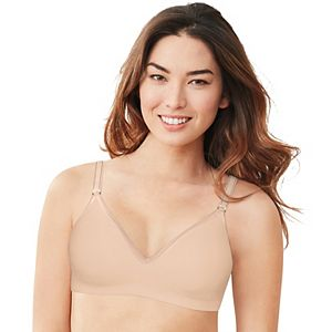 Hanes Ultimate® Bra: Smooth Inside & Out Foam Wire-free Convertible T-shirt Bra HU05