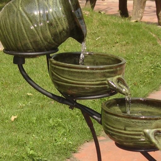 Smart Solar 4-Tier Fountain