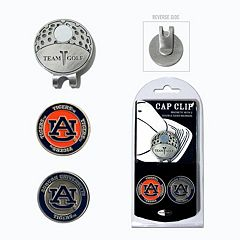 Team Golf Auburn Tigers Cap Clip & Magnetic Ball Markers