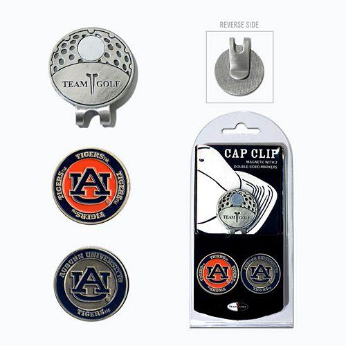 Team Golf Auburn Tigers Cap Clip & Magnetic Ball Markers