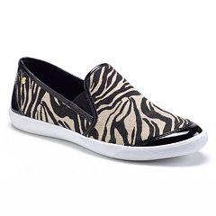 64bcf96db8b Dana Buchman Slip-On Casual Shoes - Women. Zebra Black. clearance